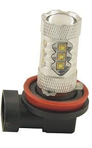 H11 Automatisch Lampen 80W SMD LED 2800lm 16 LED Mistlamp