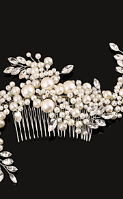 Peigne Casque Mariage/Occasion spéciale Perle Femme Mariage/Occasion spéciale 1 Pièce