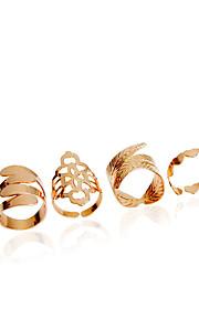 Damen - Prinzessin Klassisch Modisch Golden Ring Für Hochzeit Party Party / Abend