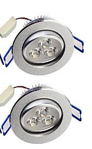 YouOKLight 280lm 3 LEDs Χωνευτό Διακοσμητικό LED Χωνευτό Σποτ Θερμό Λευκό Ψυχρό Λευκό AC 110-130V AC 100-240V AC 220-240V AC 85-265V