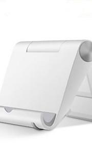 Postel / Stůl univerzální / Mobilní telefon / Tablet Držák držáku Nastavitelný stojan univerzální / Mobilní telefon / Tablet Plastický Držák