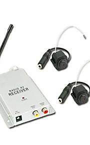 1.2GHz deluxe sikringsmateriel trådløs CMOS farve video-og AV-receiver