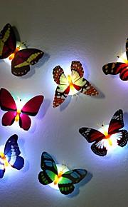 7 farve skiftende sommerfugl ledet natlygte høj kvalitet