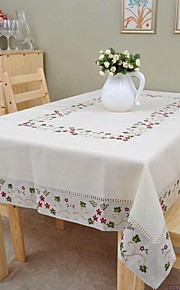 Liinavaatteet Suorakulma Table Cloths Kukka Ekologinen Pöytäkoristeet