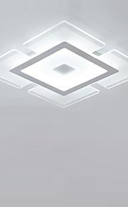 플러쉬 마운트 엠비언트 라이트 기타 아크릴 아크릴 밝기조절가능, LED, 원격 제어로 조광 가능 90-241V LED 광원 포함 / 집적 LED