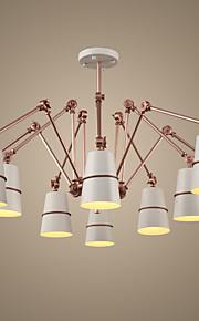 Ecolight™ 10 lumières Lustre Lumière dirigée vers le bas - LED, Designers, 220-240V Ampoule non incluse / 20-30㎡ / E12 / E14