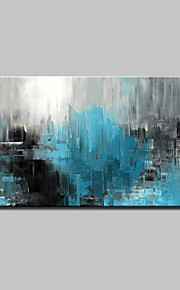 Oil Painting Hand Painted - Abstract Abstract Modern Canvas