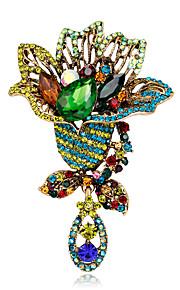 Dames Broches - Bloem Modieus, Euramerican Broche Diverse Kleuren Voor Speciale gelegenheden / Evenement / Feest / Dagelijks / Causaal