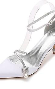 196eeace 47 Mujer Zapatos de boda Tacón Cono / Tacón Bajo / Tacón Stiletto Dedo  Puntiagudo Pedrería /
