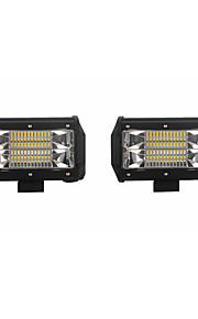 Auto Žárovky 72W SMD 3030 14400lm LED Pracovní světlo