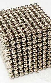 1000 pcs 3mm Magnetické hračky magnetické kuličky Stavební bloky Super Strong magnetů ze vzácných zemin Neodymové magnety Stres a úzkost Relief Office Desk Toys Udělej si sám Dětské / Dospělé