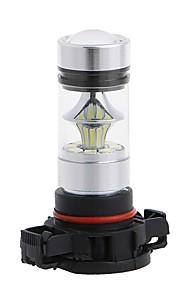 2pcs H16 Automatisch Lampen 100W SMD LED 8000lm 20 Mistlamp For Universeel Alle Modellen Alle jaren