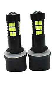 2pcs 880/889 Automatisch Lampen SMD LED 6000lm Mistlamp For Universeel Alle Modellen Alle jaren