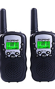BAOFENG T3 Walkie-talkie Håndholdt 1,5-3 km 1,5-3 km Walkie talkie Tovejs radio