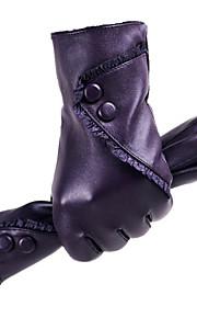 33 Γυναικεία Μονόχρωμο Μονόχρωμο   Αξεσουάρ   Χειμερινά Γάντια Μέχρι τον  καρπό Ακροδάχτυλα Γάντια   Χειμώνας 9333de17220