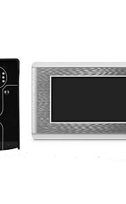 sistema di videocitofono con videocitofono cablato 7 con sblocco della carta d'identità