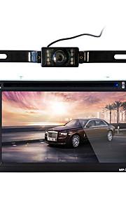 362 6,2 tommer 2 din bil bil dvd mp5 afspiller berøringsskærm fjernbetjening fm audio stereo bluetooth håndfri opkald auto video