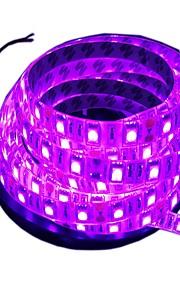 300 светодиоды Светодиодная лента 5M Розовый Можно резать Водонепроницаемый Самоклеющиеся Подсветка для авто Декоративная DC 12V