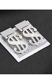 Personalized Stainless Steel Money Clips & Holder Bride Groom Bridesmaid Groomsman Friends Wear to work Daily Wear