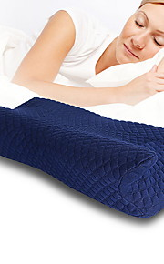 Comfortable - Superior Quality Bed Pillow Polyester Memory Foam Stretch Comfy