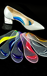 1 Pair Orthotic Insole & Inserts Gel All Shoes Unisex White Purple Yellow Fuchsia Blue