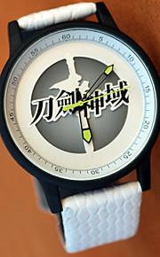 Часы Вдохновлен Sword Art Online Asuna Yuuki Аниме Косплэй аксессуары Часы Металлические
