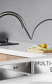 Grifería de Cocina - Universal Acero lijado Pull-out / Pull-down Conjunto Central