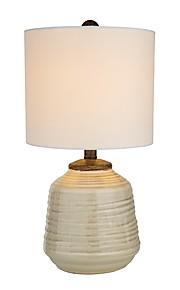 Semplice Pretezione per occhi Lampada da tavolo Per Ceramica 110-120V 220-240V Bianco