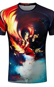 T-shirt Per uomo Essenziale Con stampe, Fantasia geometrica