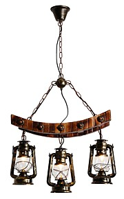 Chandelier Downlight - Mini Style, Rustic / Lodge Artistic, 110-120V 220-240V Bulb Not Included