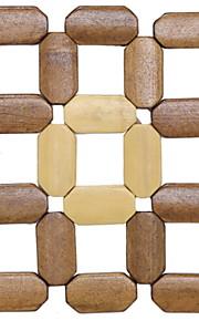 Hedendaagse Muovi Vierkant Placemats Effen Tafeldecoratie