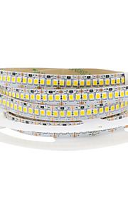 1x5M Гибкие светодиодные ленты 240 светодиоды Тёплый белый Холодный белый Можно резать Самоклеющиеся Подсветка для авто Компонуемый
