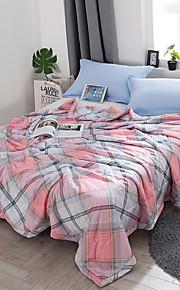 Komfortabel 1stk Sengetæppe 1stk dyne, Håndlavet Reaktivt Print Ternet Sommer