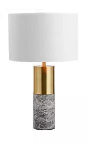 Moderno Lampada da tavolo Per Metallo 110-120V 220-240V Bianco Nero