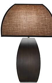 Tradizionale / Classico Decorativo Lampada da tavolo Per Legno / bambù 220-240V Oro Nero
