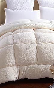 Comfortabel - 1 bedsprei Winter Organische Vezels Effen