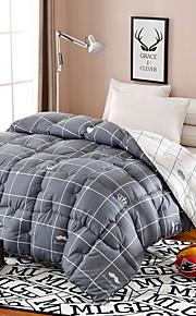 Comfortabel - 1 bedsprei Winter Textiel Binnenwerk Plaid / geruit / Geometrisch