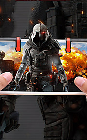 Game Controllers Til Android / IOS Bærbar Game Controllers ABS 2pcs enhed