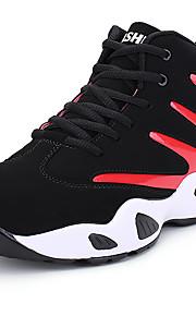 Naisten Comfort-kengät Synteettinen Talvi Urheilullinen / Vintage Urheilukengät Koripallo Tasapohja Musta / Musta / punainen / Musta / Sininen