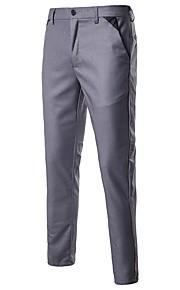 男性用 ストリートファッション スーツ パンツ - ソリッド ブラック / スポーツ