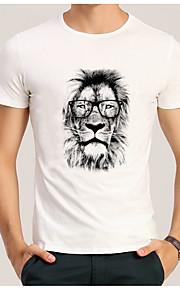 男性用 Tシャツ ストリートファッション 動物