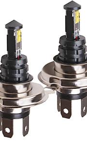 OTOLAMPARA 2pcs PK43T 차 전구 40 W SMD 335 1600 lm 4 LED 헤드램프 제품 Volkswagen / Toyota / Nissan Fit / Jetta / Tiida 모든 년도