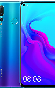"Huawei nova 4 48MP 6.4 inch "" 4G Smartphone ( 8GB + 128GB 2 mp / 16 mp / 48 mp Hisilicon Kirin 970 3750 mAh mAh )"