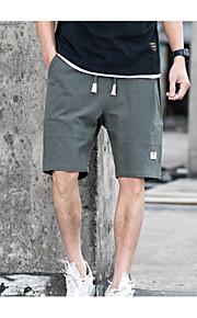 男性用 ショーツ パンツ - カラーブロック グリーン