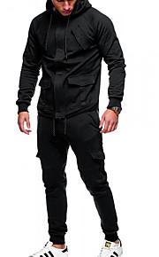 Hombre Casual / Chic de Calle Activewear Un Color