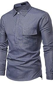 男性用 シャツ ストリートファッション カラーブロック