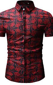 メンズシャツ - チェック柄シャツの襟