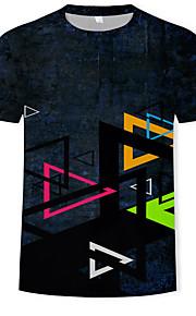 Hombre Camiseta 3D Arco Iris XL