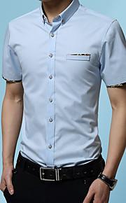 Hombre Camisa Gráfico Wine XXXL