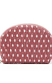 Naisten Kassit Sifonki Kukkaro Vetoketjuilla Geometrinen printti Rubiini / Punastuvan vaaleanpunainen / Keltainen